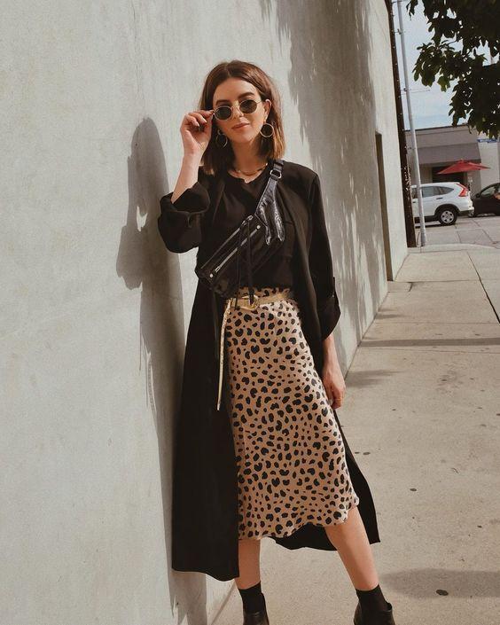 La jupe léopard