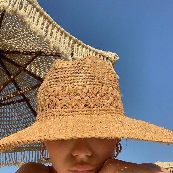 Le chapeau de paille