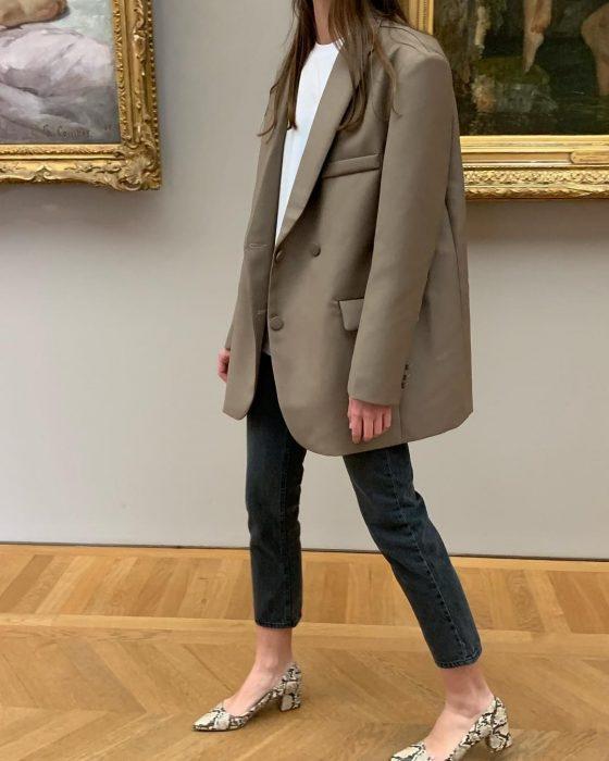 La veste d'homme oversize