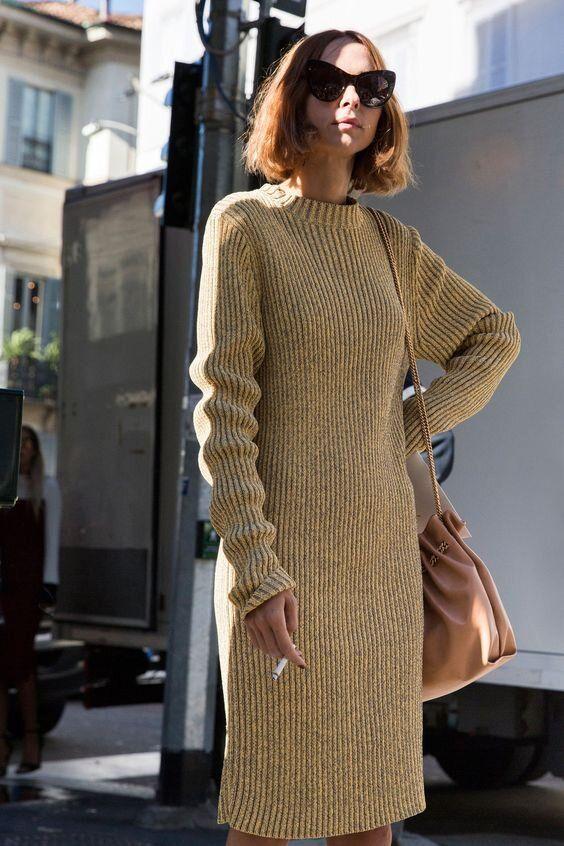 La robe en laine