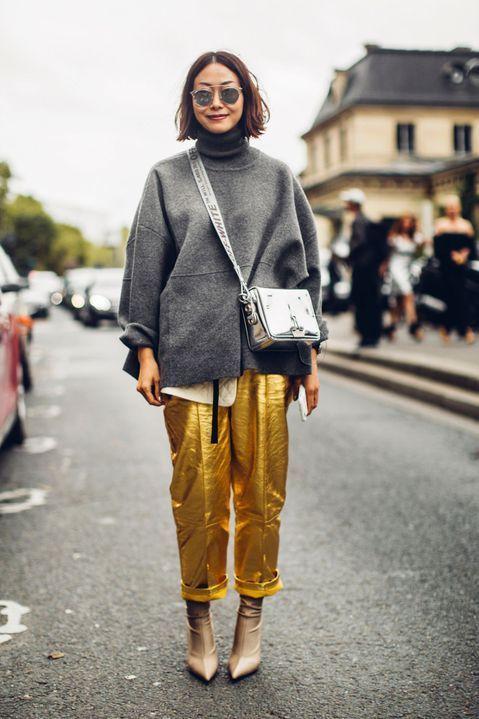 Le pantalon doré