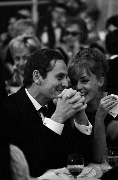 Pierre Cardin & Jeanne Moreau